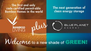 """Bamboo Living Plus Blue Planet Energy """"welcome to a new shade of green"""""""