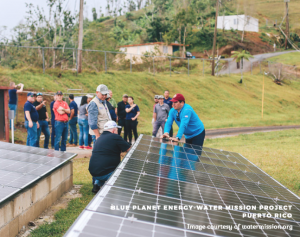 Blue Planet Energy Water Mission Project Puerto Rico