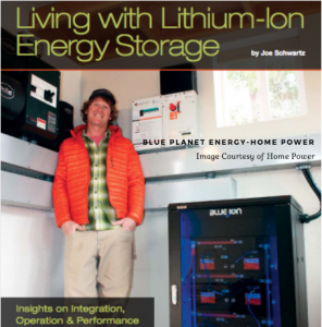 Living with Lithium-ion Energy Storage