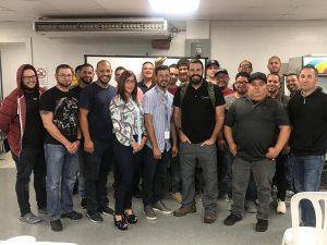 Group picture of professionals.