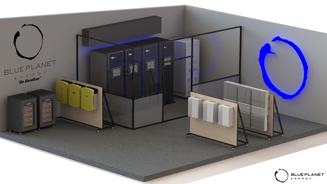 rendering of battery systems
