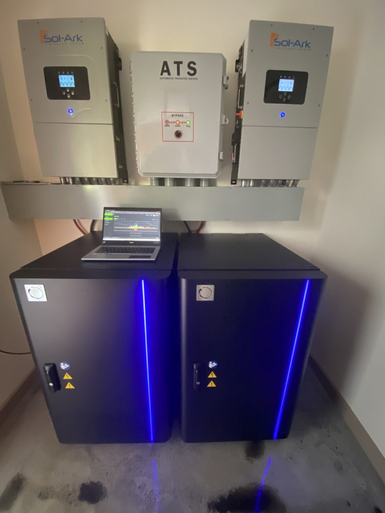 32 kWh Blue Ion HI System in Porter Residence